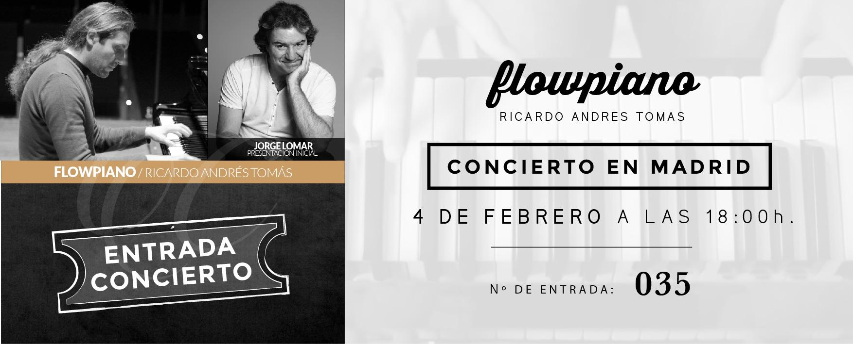 FLOWPIANO ENTRADAS CONCIERTO MADRID 04 DE FEBRERO 2017-035
