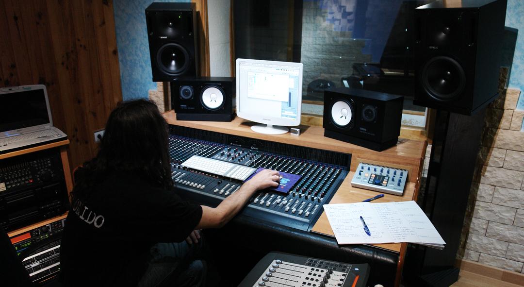 estudio de grabación web